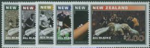 NZ SG2623-8 Centenary of New Zealand Test Rugby set of 6